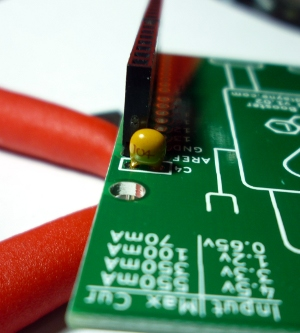 Install the capacitor C4 if you want to make analog readings