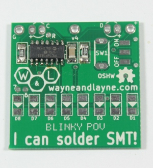 Solder the rest of the chip pins