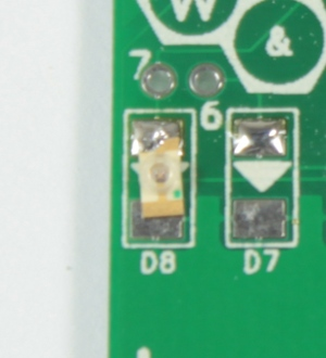 LED flat against the PCB