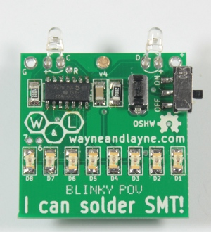 Bend the sensor leads by 90 degrees before inserting into the board