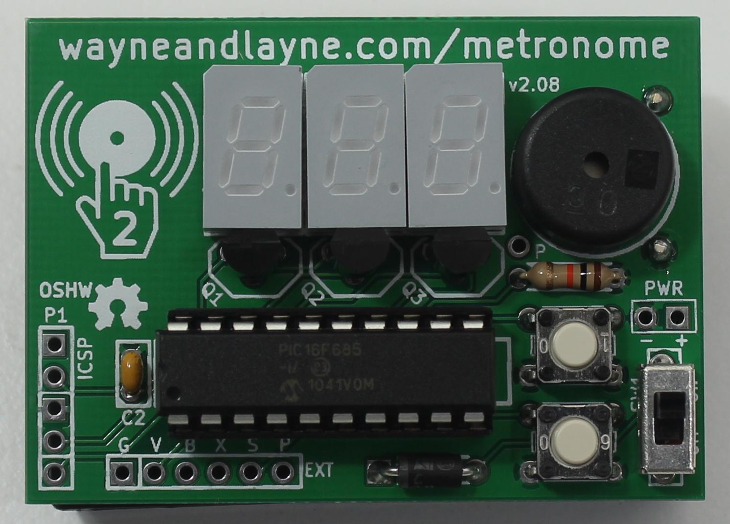 tap tempo metronome wayne and layne rh wayneandlayne com Amplifier Circuit Reverb Circuit
