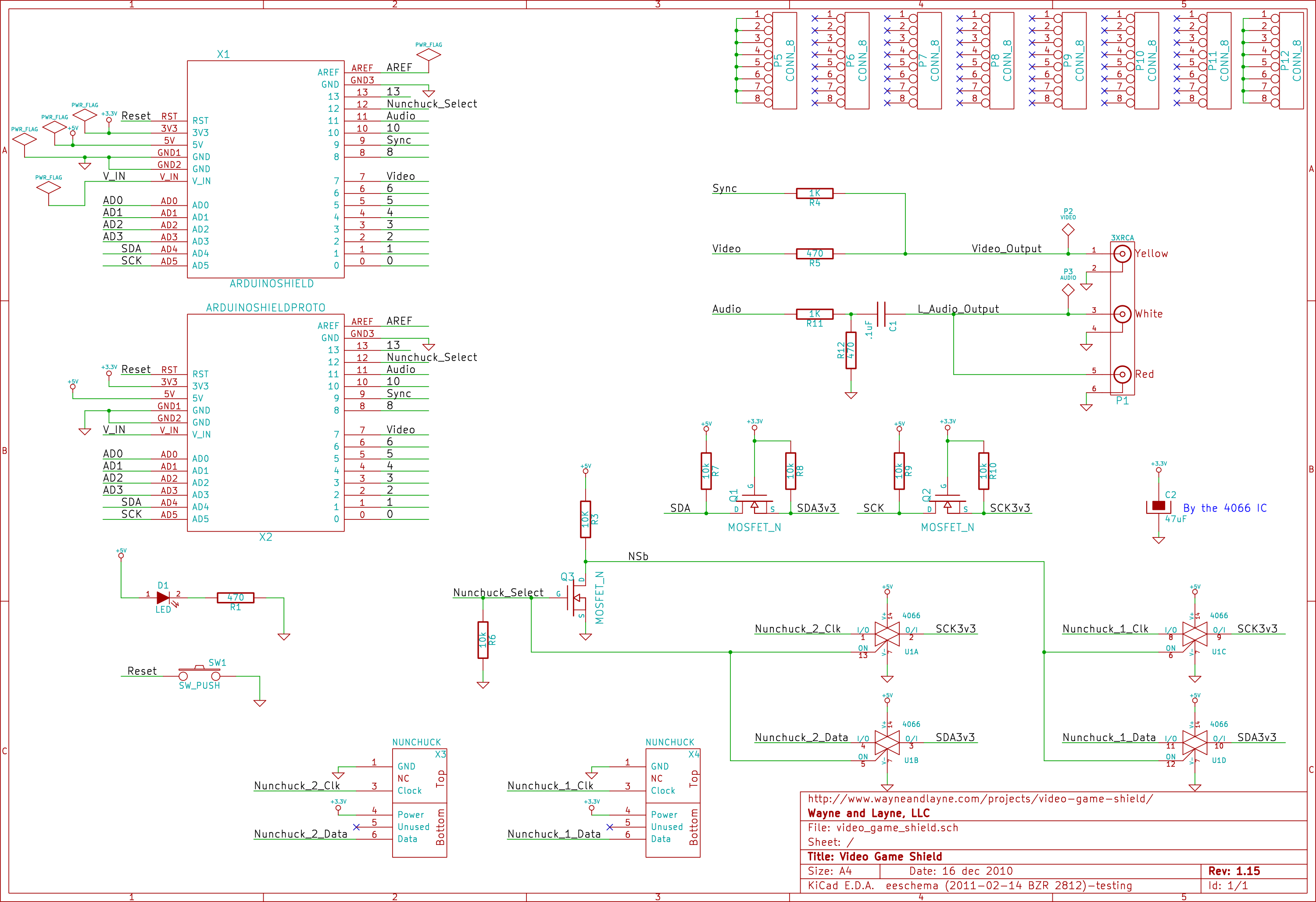 Design Wayne And Layne Arduino Real Time Clock Shield Schematic The Video Game