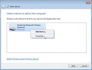 Bluetooth keyboard pairing without code entry | Wayne and Layne